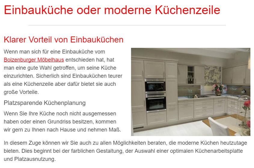 Einbauküche in  Kalkhorst